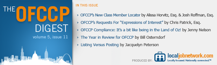 The OFCCP Digest